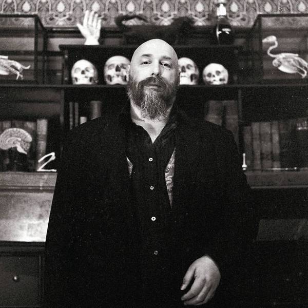"Warren Ellis, author of ""Gun Machine"""