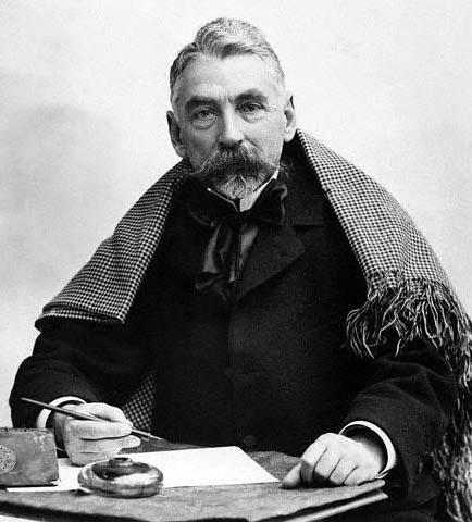Stéphane Mallarmé, born March 18, 1842, Paris.
