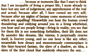 "Fyodor Dostoyevsky, ""White Nights"""
