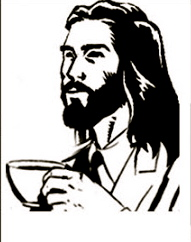 goddrinkingcoffee