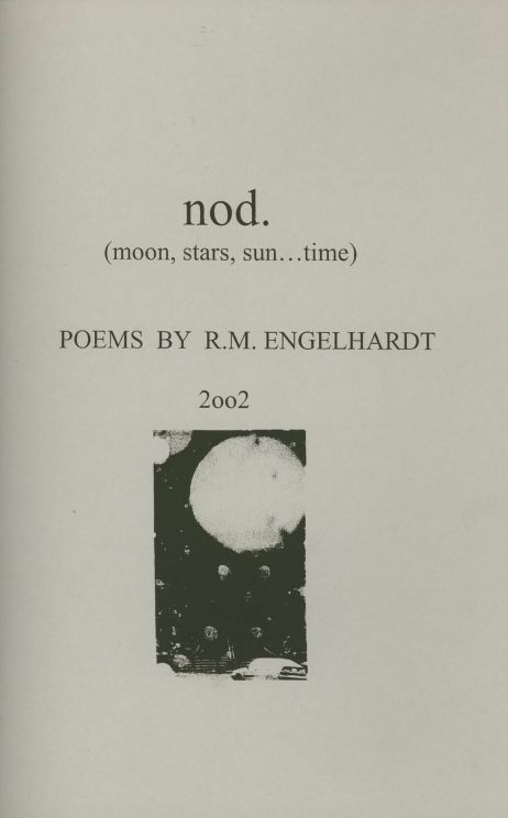 NOD POEMS R.M. ENGELHARDT