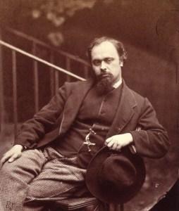 NPG P29,Dante Gabriel Rossetti,by Lewis Carroll (Charles Lutwidge Dodgson)