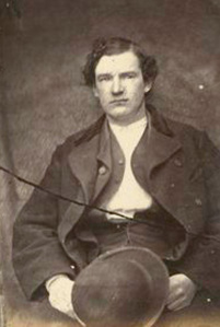 Edward Morley, who spent 13 months with the 183rd Pennsylvania Infantry. Recruited into the Fenians in 1863. (Kane 2002: 128)